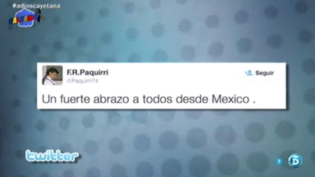 El gran ausente en el adiós a la Duquesa: Fran Rivera manda un 'tuit' desde México