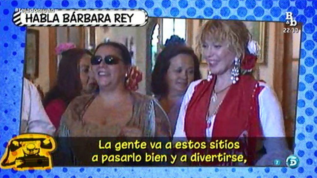 Bárbara Rey no se cree que Antonio Tejado y María del Monte no tengan relación