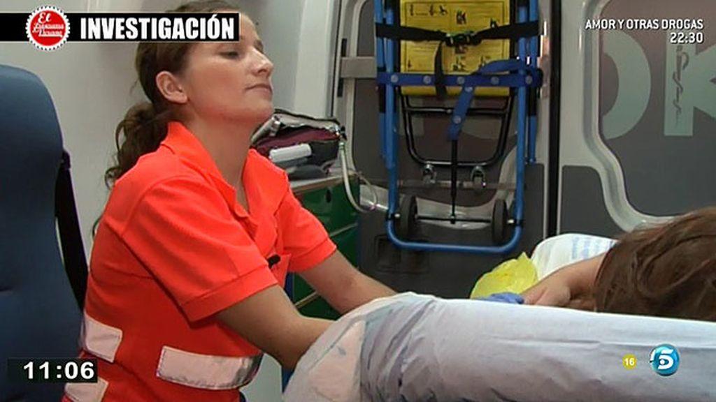 La doctora del servicio de emergencias alerta de que las jóvenes que sufren intoxicacione, indefensas ante robos o abusos