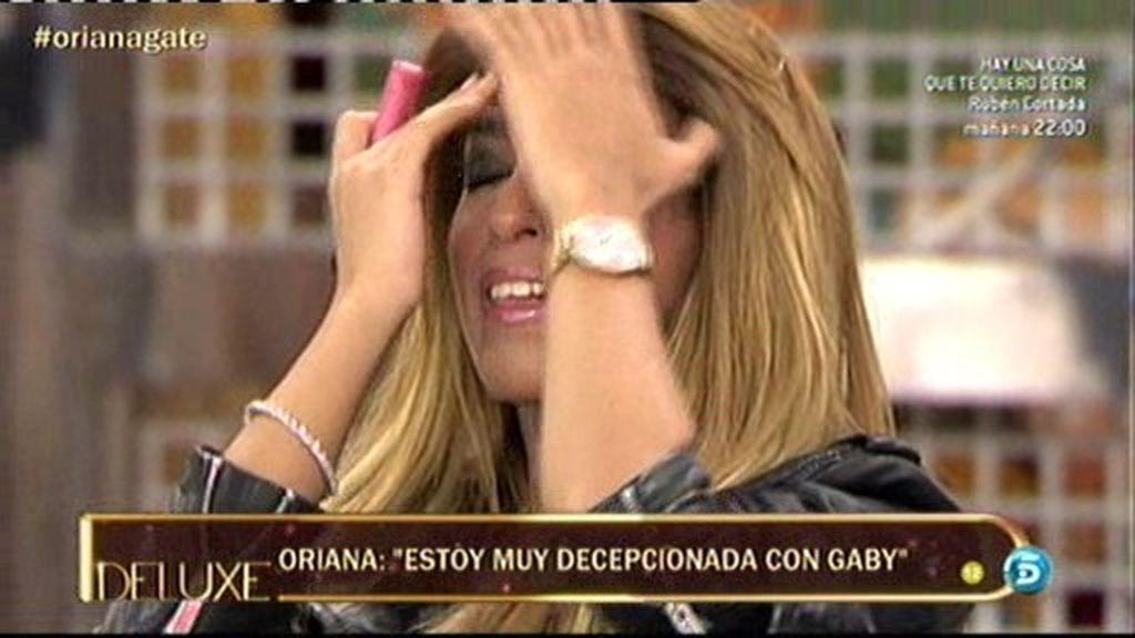 """Oriana se derrumba: """"Estoy muy decepcionada con Gaby"""""""