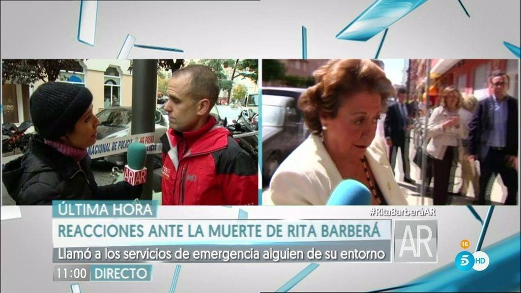 """Así se encontró el SUMMA a Rita Barberá: """"Estaba en parada cardiorrespiratoria"""""""