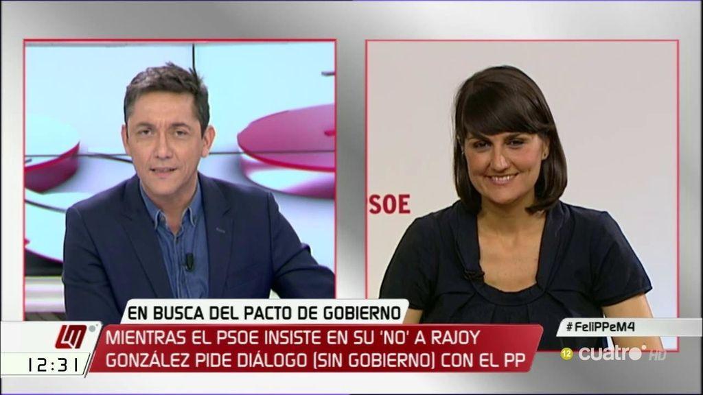La entrevista a María González Veracruz, a la carta