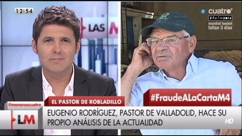 Eugenio, pastor de Valladolid, hace su propio análisis sobre la actualidad de España