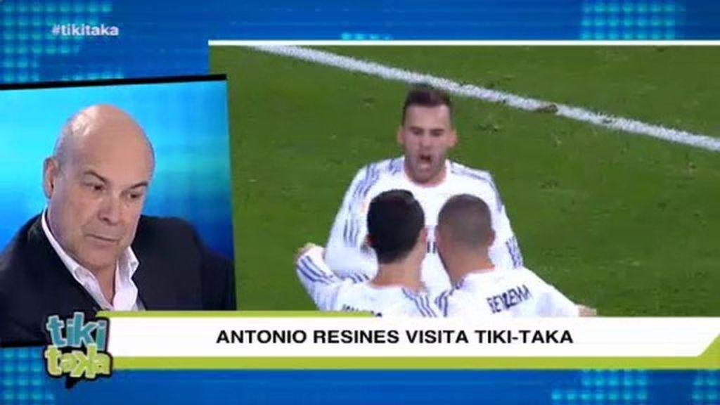 """Resines: """"Jesé tiene algo distinto como Cristiano y como tenía el otro Ronaldo"""""""
