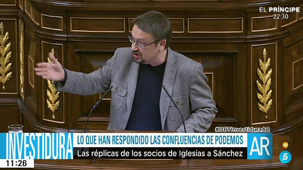 Las confluencias de Podemos dejan muy claro su rechazo a la investidura de Sánchez