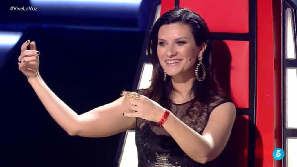 """Laura Pausini, a La Flaka: """"Esta canción es especial, la puse en el nacimiento de mi hija"""""""