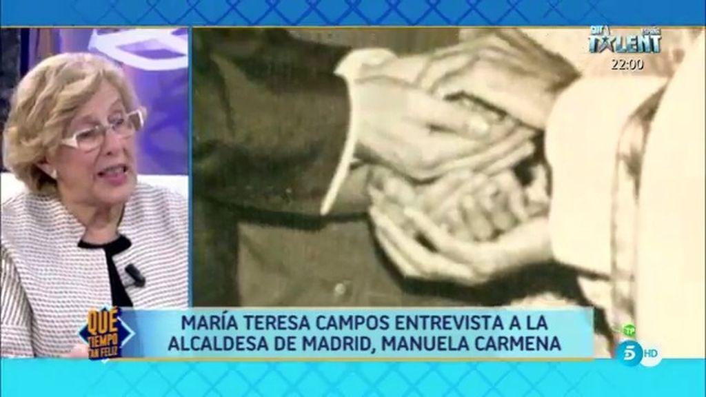 """Manuela Carmena: """"Para mí fue un momento muy difícil el dejar de creer"""""""