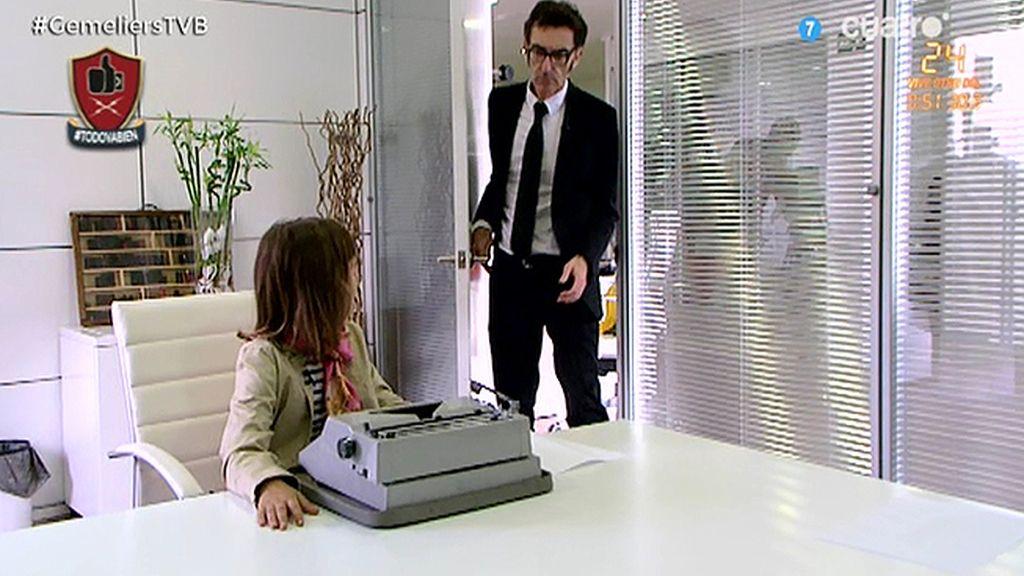 Los niños no saben usar una máquina de escribir, por Javier Abascal