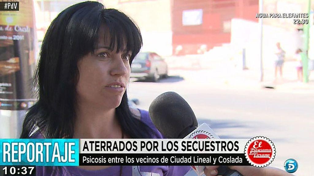 Los vecinos de Ciudad Lineal y Coslada, aterrados por los secuestros