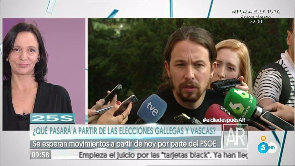 """Iglesias: """"Espero de corazón que Sánchez intente formar Gobierno con nosotros"""""""