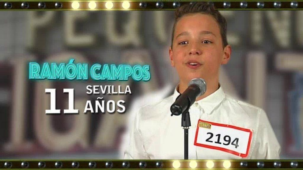 """Ramón: """"En mi pueblo no hay ningún sitio donde pueda aprender canto"""""""