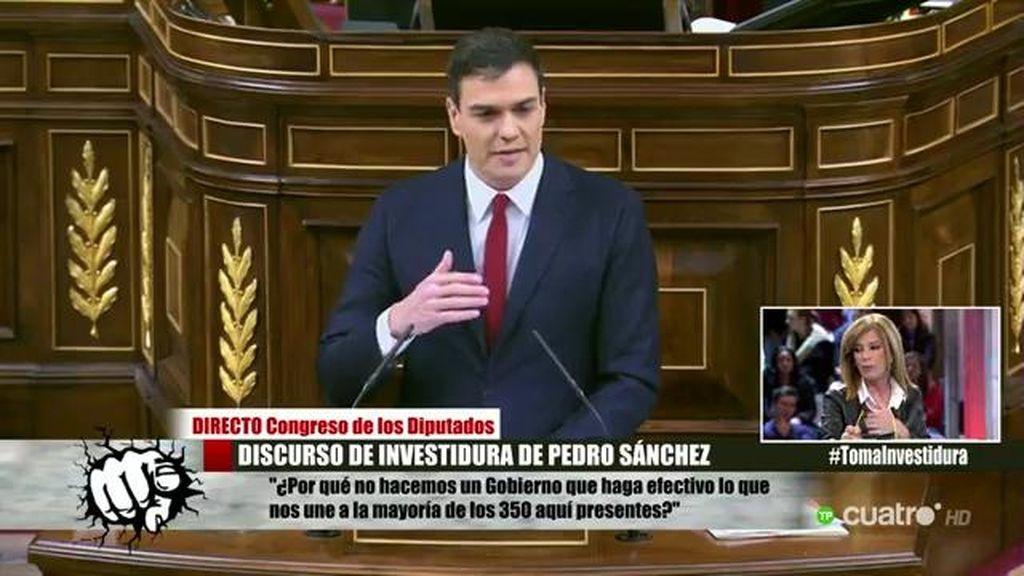 """""""Sánchez sabe que la izquierda no suma por eso habla de gobierno de mestizaje"""""""