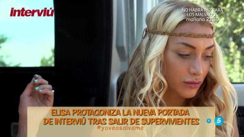 Elisa protagoniza la nueva portada de 'Interviú' tras salir de 'Supervivientes'