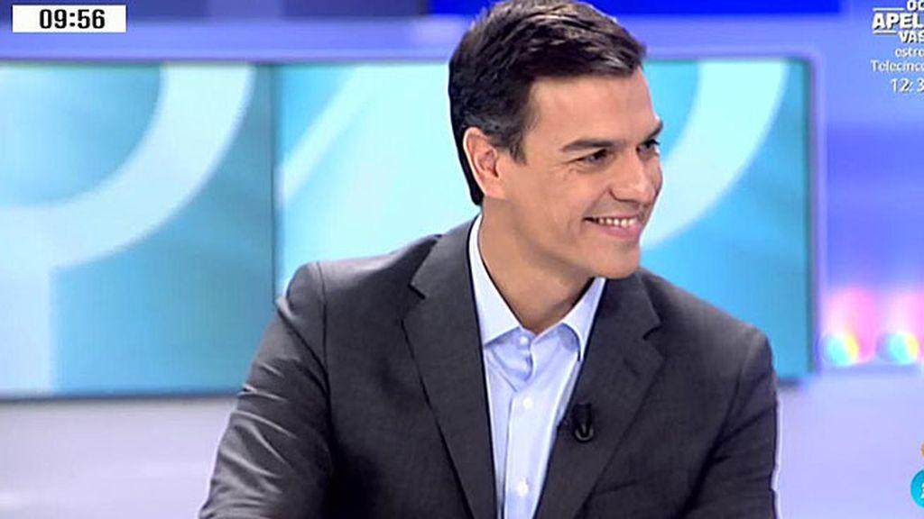 """Sánchez: """"He visto a Rajoy detrás de los tribunales, no liderando la alternativa política"""""""