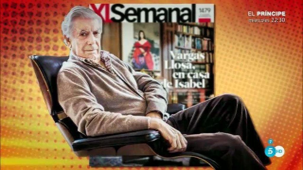 """Mario Vargas Llosa, en 'XLSemana': """"Estoy muy contento en esta casa"""""""