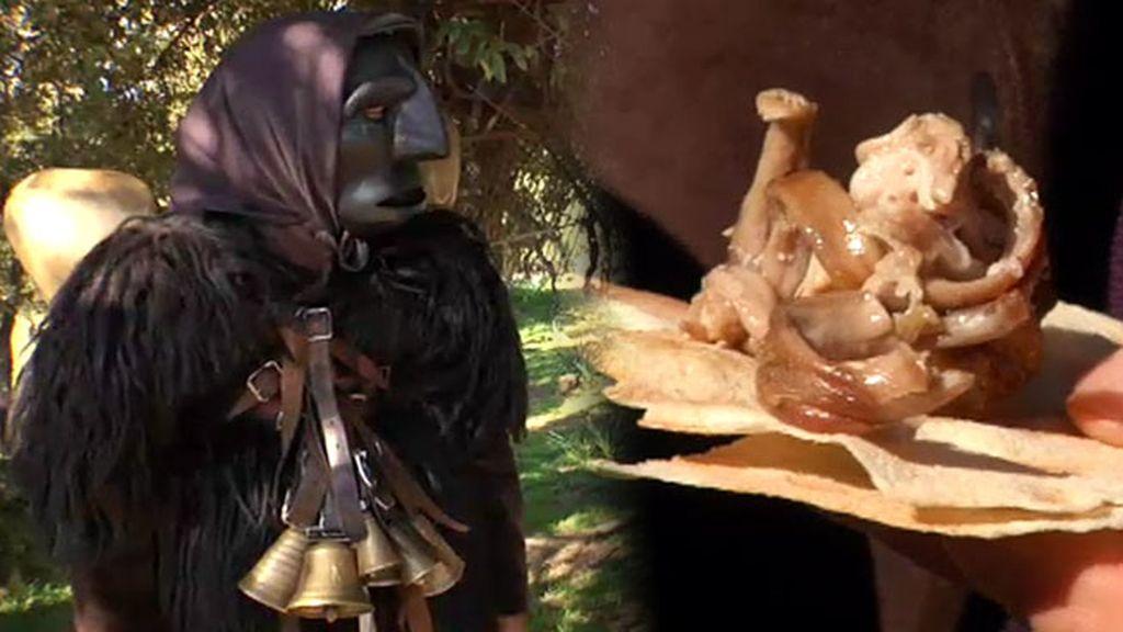 El reportero de 'Fogones lejanos' se disfraza de mamuthon para poder comer
