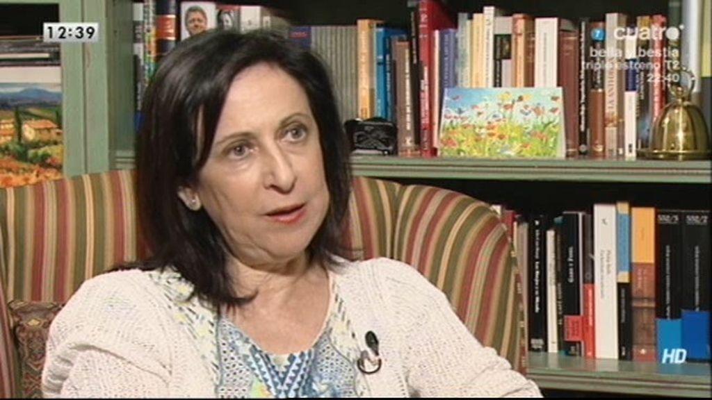 """Margarita Robles, de Pujol: """"Algunos jueces veíamos que existían indicios de criminalidad"""""""