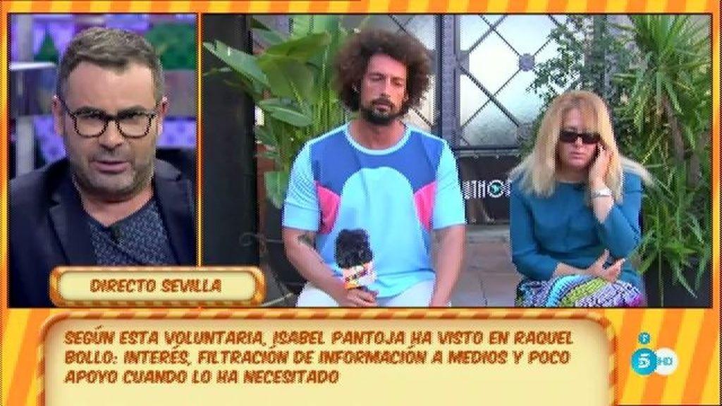 """María, voluntaria de la prisión donde estuvo Pantoja: """"Raquel Bollo habla demasiado"""""""