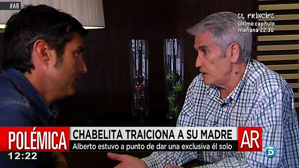 """Chema Álvarez: """"A Alberto le abrieron las puertas de 'Cantora'"""