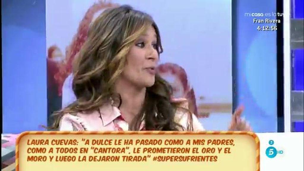 """Laura Cuevas: """"Agustín Pantoja ingenió un plan para ahorrarse el finiquito de Dulce"""""""