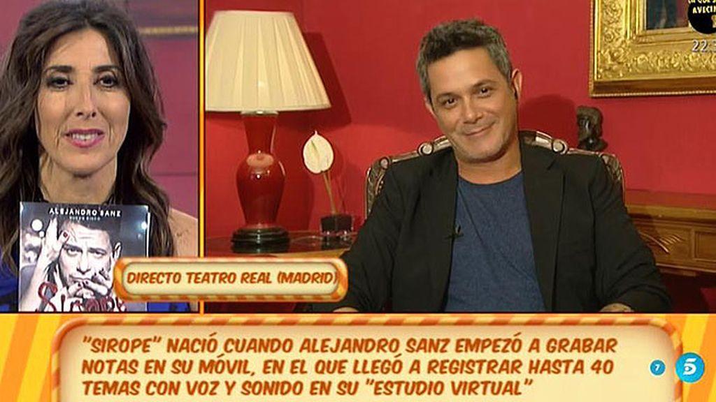 """Alejandro Sanz: """"Espero que con este disco la gente me quiera un poquito más"""""""