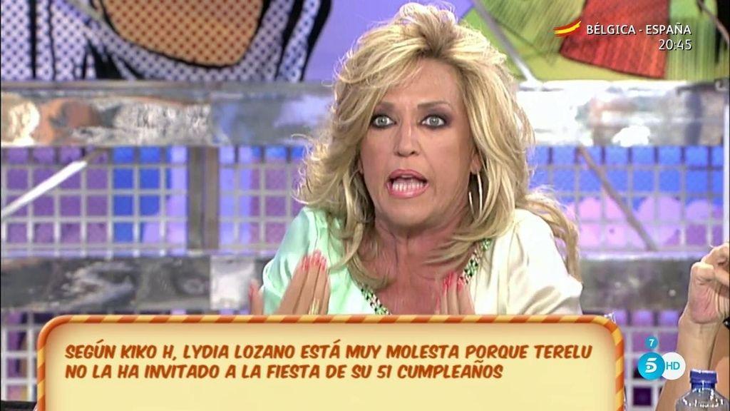 Lydia Lozano, la única colaboradora que Terelu no ha invitado a su celebración