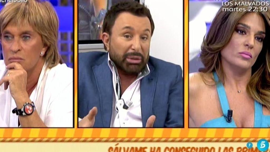 """Chelo, a Raquel Bollo: """"Eres una falsa"""""""