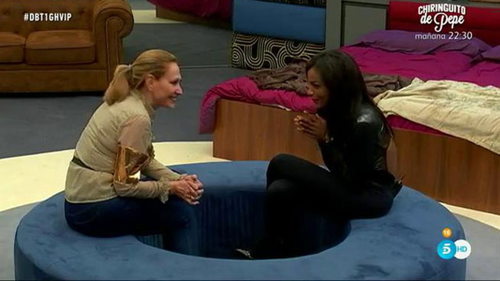 Rosa Benito le confiesa a Liz que tiene muy claro que no volvería con Amador