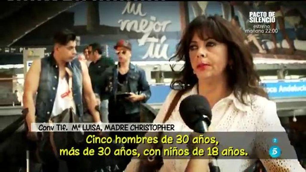 """María Luisa, tras el altercado de Christopher Mateo: """"Tengo una rabia increíble"""""""