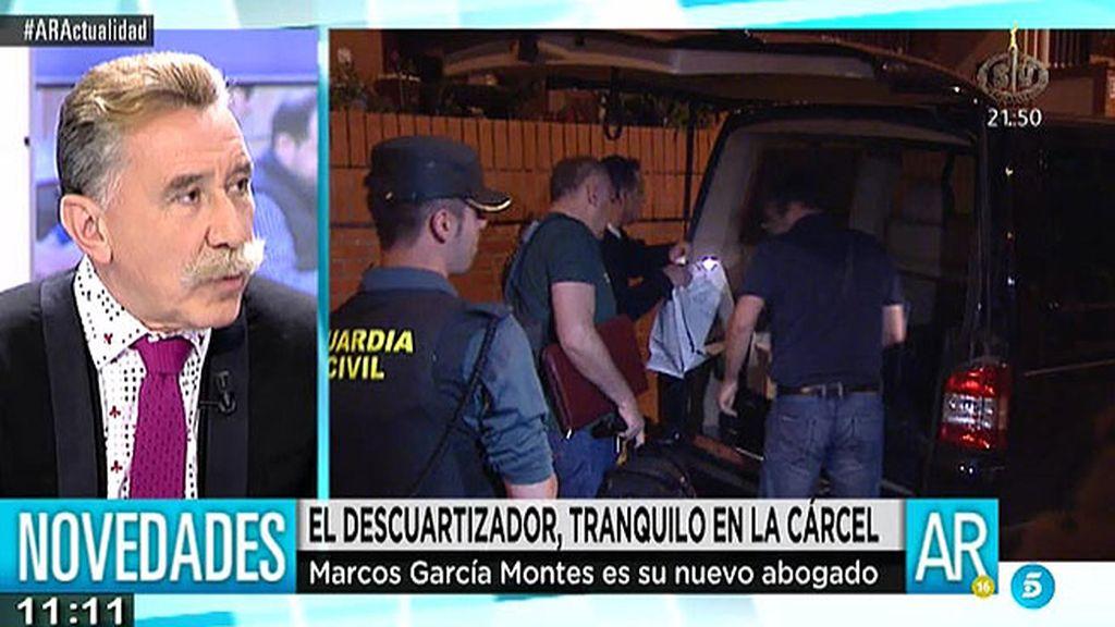 "García Montes, abogado del descuartizador: ""Hemos visto nulidades de libro"""
