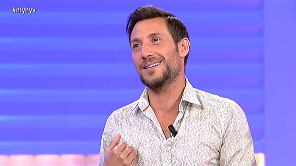 """Antonio David: """"No puedo hablar de mi ex porque ahora trabaja en Telecinco y me da miedo que me echen"""""""