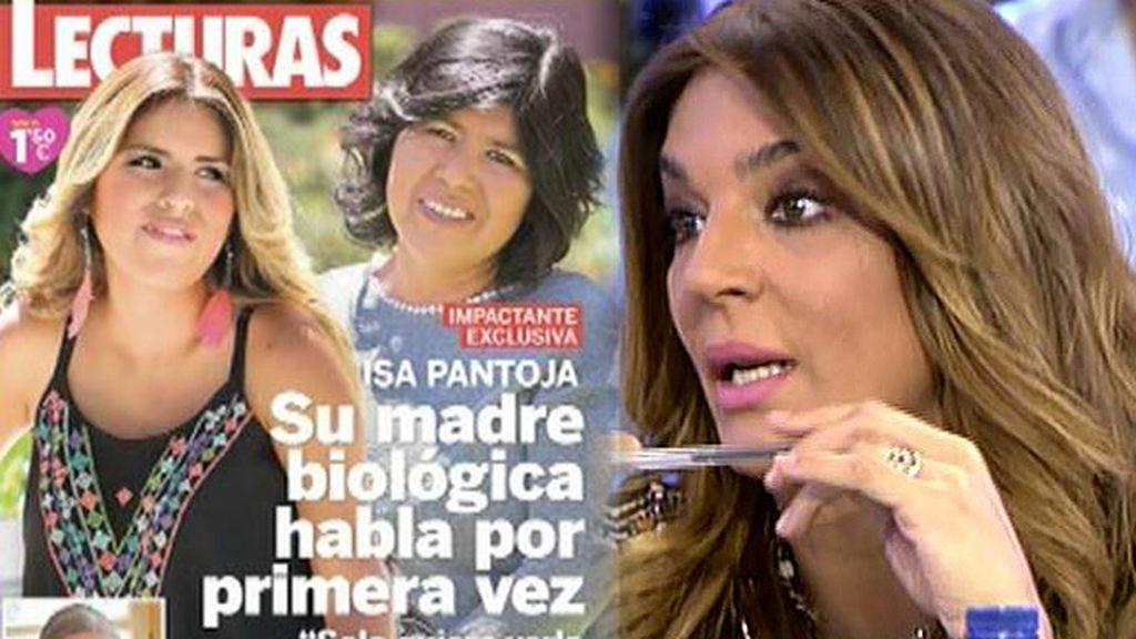 Raquel Bollo confirma que Isa Pantoja va a demandar a su supuesta madre biológica