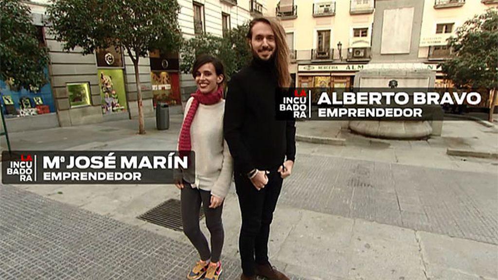 Pepita y Alberto quieren lanzar su negocio de lana y agujas en EE.UU