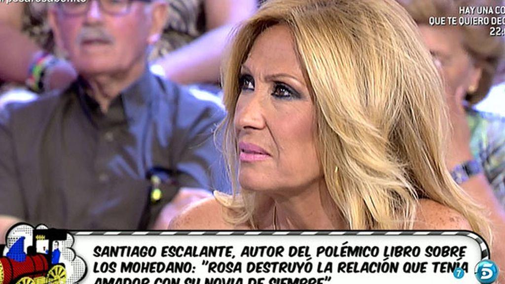 """Rosa Benito, sobre Santiago Escalante: """"Si publica lo que dice, le llevaré ante un juez"""""""