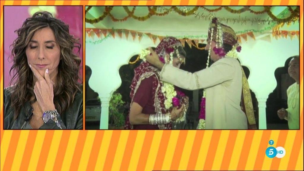 En vídeo: Así fue la primera boda de Paz Padilla en La India