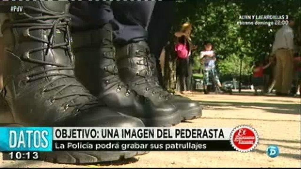 La policía grabará sus patrullajes para captar una imagen del pederasta de Ciudad Lineal