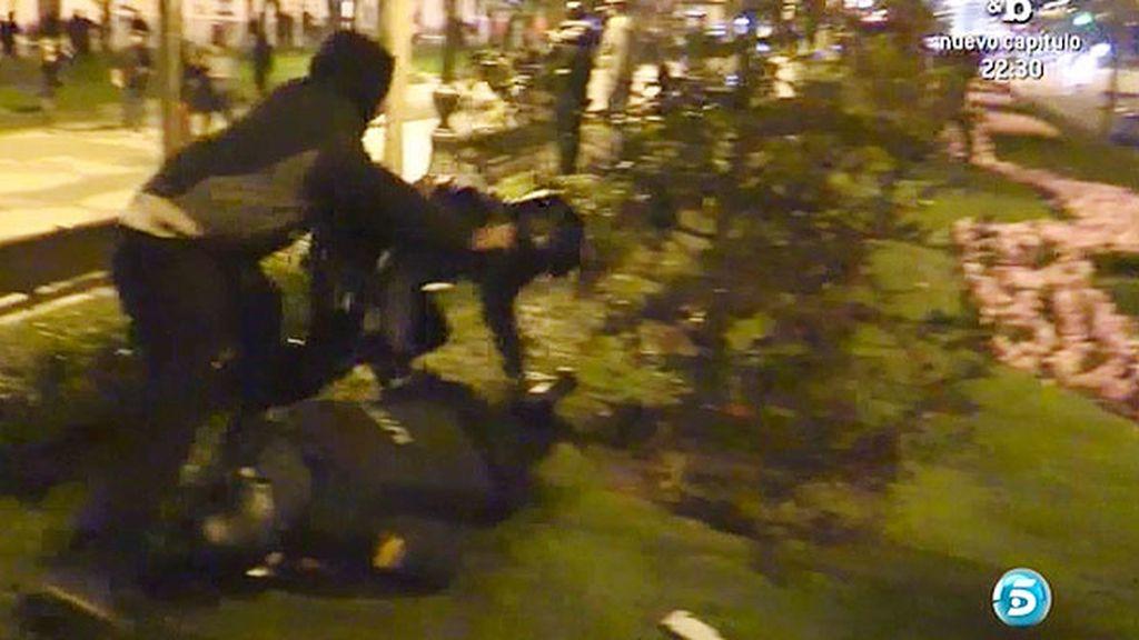 """Miguel, detenido tras los incidentes del 22M: """"Voy todo de subidón"""""""