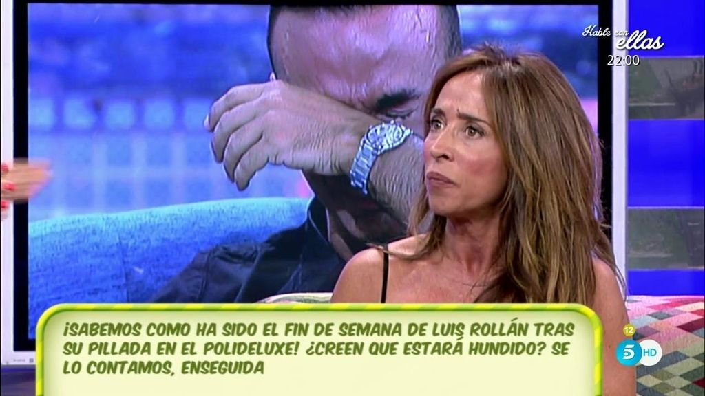 """María Patiño, de Luis Rollán: """"Le buscaba con la mirada y ni siquiera le reconocía"""""""