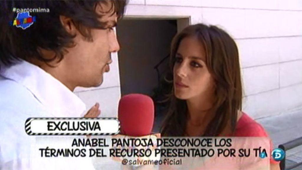"""Anabel Pantoja, sobre la resolución del juicio de su tía: """"Tenemos que esperar"""""""