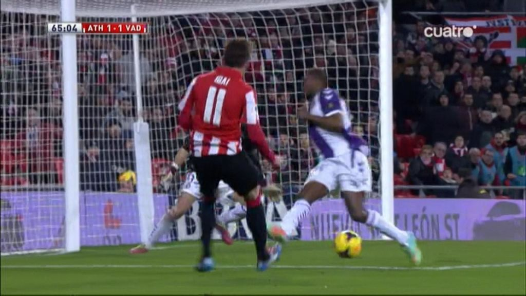 Gol de Ibai (Athletic 1-1 Valladolid)