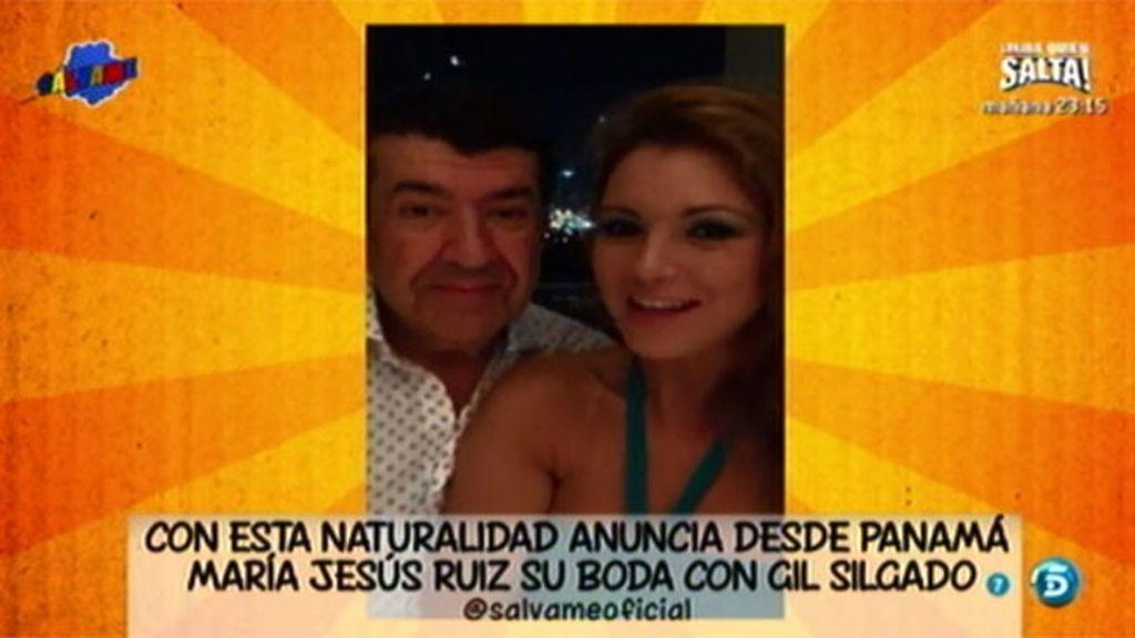 ¡María Jesús Ruiz se casa!