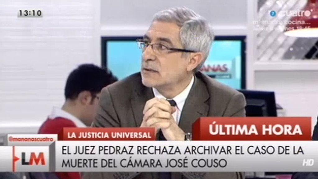 El juez Pedraz rechaza archivar el caso de la muerte del cámara José Couso