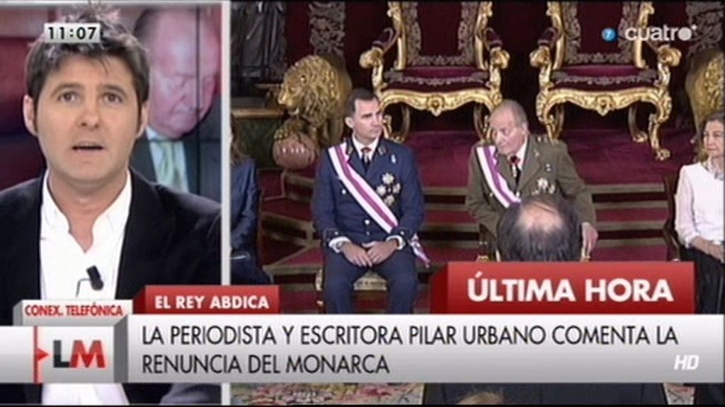 """Pilar Urbano: """"Tenemos al Príncipe mejor preparado de la historia y de Europa"""""""