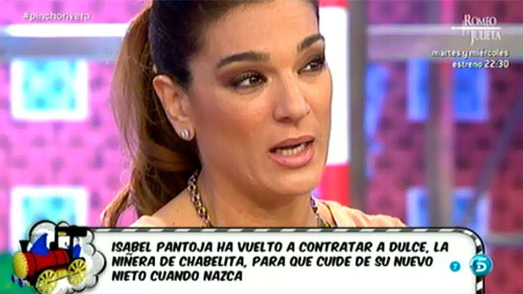 """""""Isabel Pantoja hace mucho tiempo que tiene otros pensamientos con Chabelita"""""""