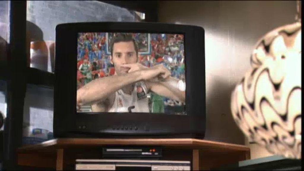 Rudy Fernández se venga de Mauricio
