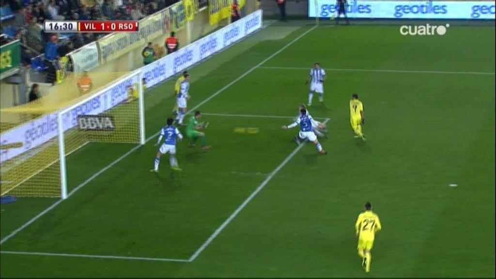 Gol de Giovani (Villarreal 1-0 Real Sociedad)