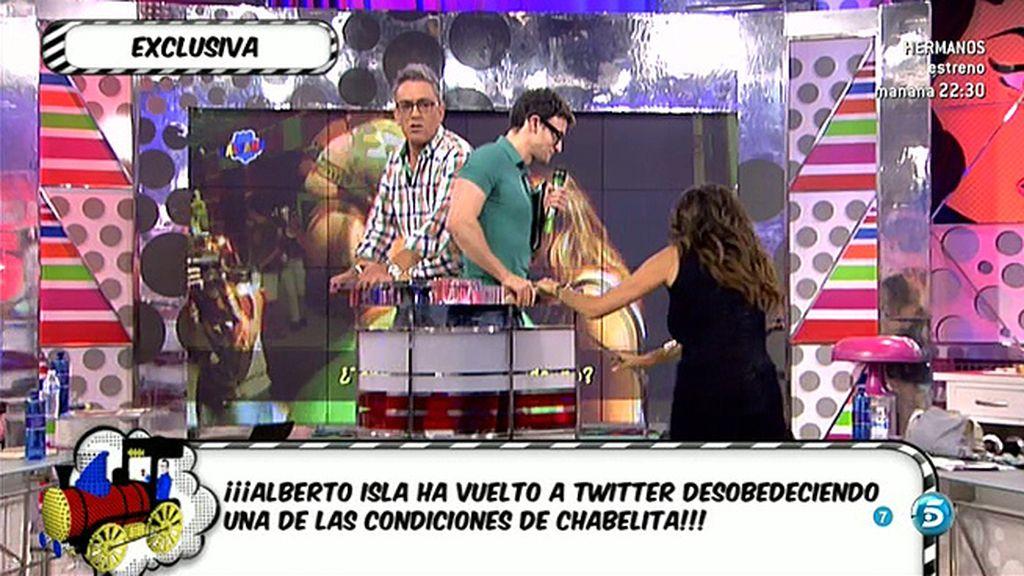 ¡¡Alberto Isla ha vuelto a Twitter!!