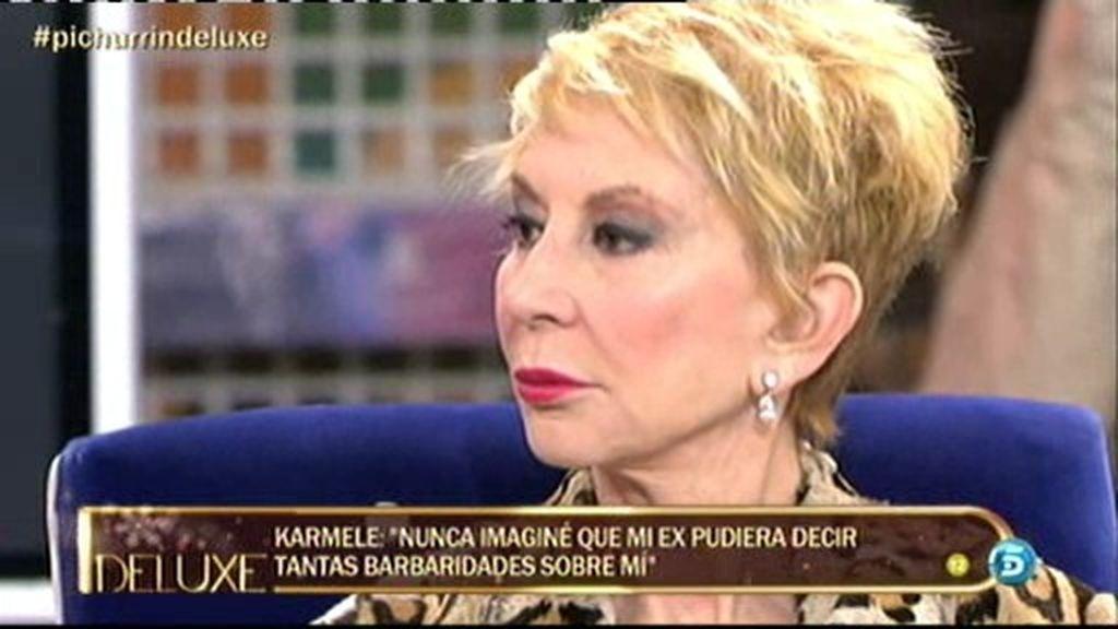 """Karmele: """"Me escandaliza que mi marido esté en una página para ligar estando conmigo"""""""