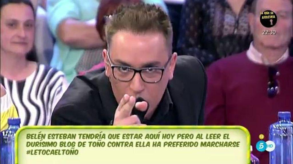 """K. Hernández, a T. Sanchís: """"Todo lo que tienes de mal cantante lo tienes de cobarde"""""""