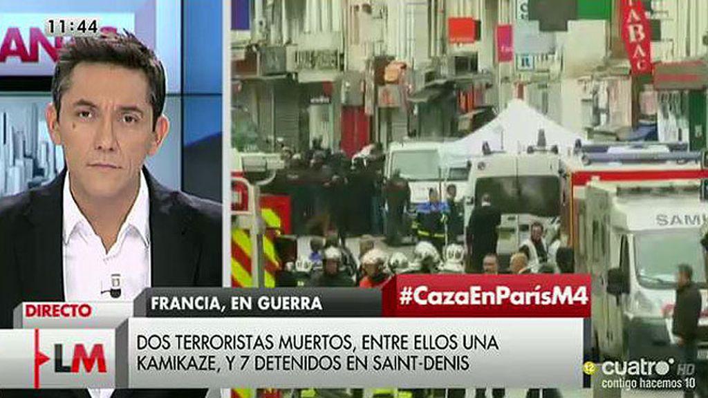 """Adela, una española en Saint Denis: """"Han atacado a mi hija pequeña en la calle y le han dicho que se vaya a su país"""""""